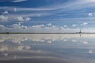 Germany, Schleswig-Holstein, North Sea Coast, View of Westerheversand Lighthouse - KEBF000274