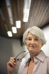 Portrait of a senior woman - RMAF000211