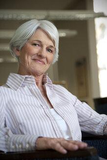 Portrait of a senior woman - RMAF000214