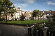 Netherlands, Amsterdam, Beguines yard - EVG002495