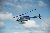 Helicopter in the air - IP000269