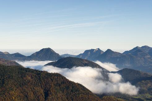 Austria, Tyrol, Kufstein, landscape in autumn - MKFF000261