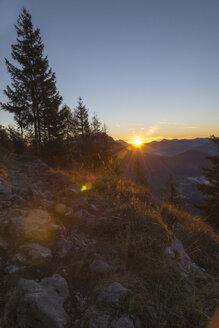 Austria, Tyrol, Kufstein, Sunrise at Pendling - MKFF000264