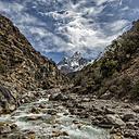 Nepal, Khumbu, Everest region, Ama Dablam - ALRF000140