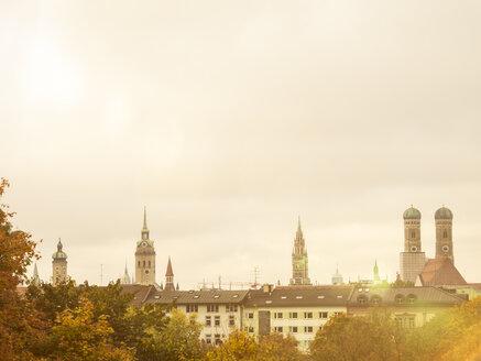 Germany, Munich, Skyline in autumn - KRPF001633
