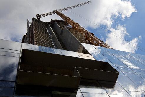 Canada, Vancouver, skyscraper construction site - TMF000051