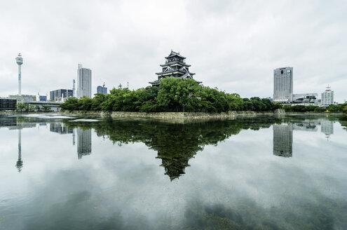 Japan, Hiroshima, Nakajima-cho, view to palace - THAF001468