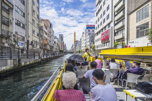Japan, Osaka, Dotonbori, boat trip - THA001475