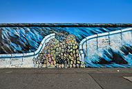 Germany, Berlin, Berlin Wall, East Side Gallery, mural painting - RJ000547