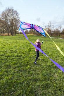 Young girl with kite - SARF002350