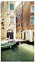 Italy, Venice, canal, Cannaregio, boat - MEMF000922