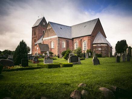 Germany, Schleswig-Holstein, Foehr Island, Nieblum, St. Johannis Church, Friesendom - GS001008