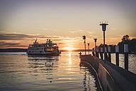 Germany, Meersburg, Ferry between Constance and Meersburg - KEBF000283