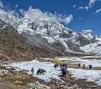 Nepal, Himalayas, Khumbu, Everest Region, Ama Dablam Base Camp - ALR000183