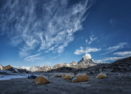 Nepal, Himalayas, Khumbu, Everest Region, Ama Dablam Base Camp - ALRF000186