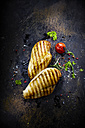 Chicken filet with cherry tomato, chili and pepper - KSWF001690