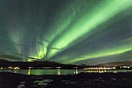 Norway, Troms, Northern lights - STSF000973