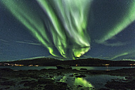Norway, Troms, Northern lights - STSF000976