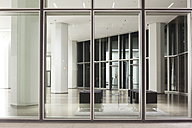 Germany, Frankfurt, view inside the lobby of an office building - ZMF000448