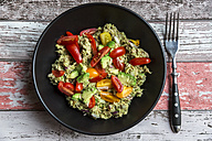 Bowl of avocado tuna salad - SARF002393