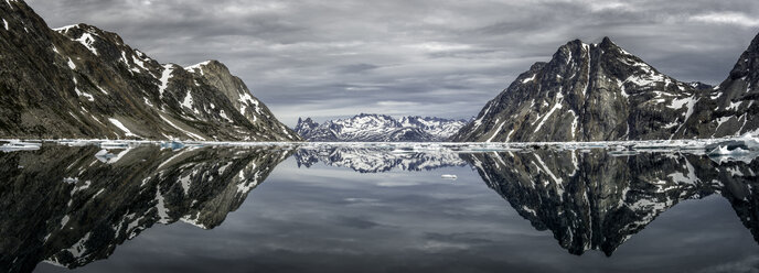 Greenland, Kulusuk, Panorama of Schweizerland - ALRF000241