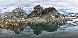 Greenland, Schweizerland, Mountains near Kulusuk - ALRF000250