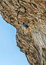 Malta, Ghar Lapsi, McCarthey's Cave, rock climber - ALRF000265