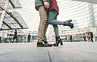 Italy, Milan, couple in love kissing - OIPF000028