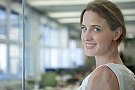 Portrait of confident businesswoman in office - WESTF021616