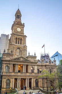 Australia, Sydney, view to town hall - PUF000452