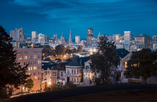 USA, San Francisco at night - STCF000112