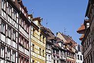 Germany, Bavaria, Nuremberg, Gable houses, half-timbered houses - GWF004554