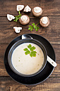 Creme of mushroom soup in a bowl - SARF002420