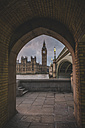 United Kingdom, England, London, Westminster Bridge und Westminster Palace in the evening - KEBF000325