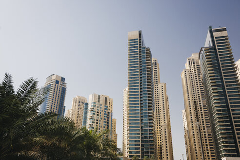 UAE, Dubai, skyscrapers - MAUF000206