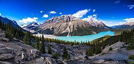 Canada, Alberta, Glacial, Rockies, Icefield Parkway, Peyto Lake, Banff National Park - SMAF000412