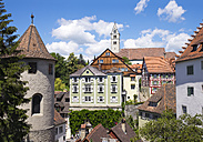 Germany, Oberstadt, Meersburg castle and parish church - SIE006909