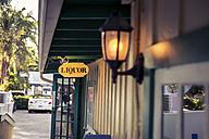 USA, Florida, Captiva Island, liquor sign - CHPF000170