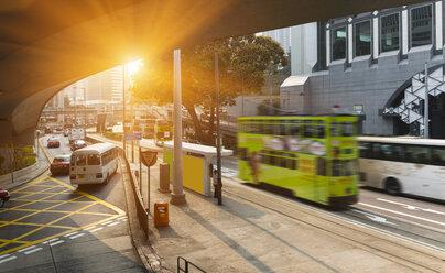China, Central Hong Kong, Traffic in the morning - HSIF000383