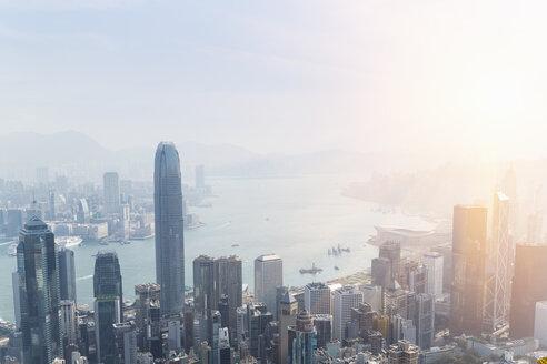 China, Hong Kong, Victoria Harbour and Kowloon - HSIF000398