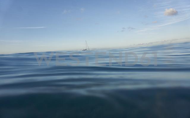 Spain, Canary Islands, Fuerteventura, Atlantic Ocean, Boat - FMKF002235