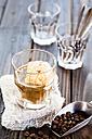 Glass of Affogato al caffe - SBDF002641