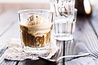 Glass of Affogato al caffe - SBDF002644