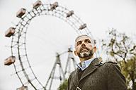 Austria, Vienna, portrait of businessman at Prater - AIF000222