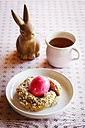 Easter Breakfast with pink coloured egg - EVGF002663