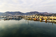 Italy, Liguria, La Spezia, cityscape with harbor - THAF001547