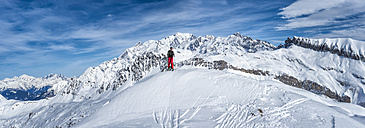 France, Les Contamines, ski mountaineering - ALRF000295
