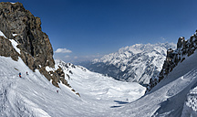 France, Les Contamines, ski mountaineering - ALRF000307