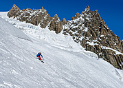 France, Chamonix, Valley Blanche, mountaineering - ALRF000310