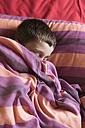 Boy sleeping in bed - SKCF000044